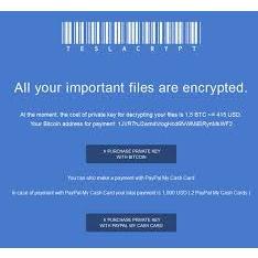 Objavljena nova verzija ransomwarea TeslaCrypt, broj infekcija u porastu