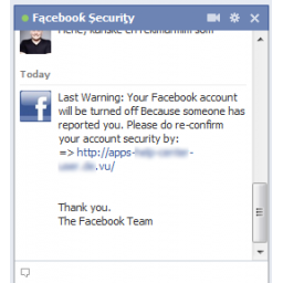 Fišing napad na Facebook korisnike: Chat sa lažnim Facebook Security timom