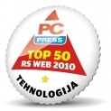 PC Press uvrstio sajt Informacija među 50 najboljih u 2010.